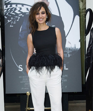 Skyfall's Berenice Marlohe sizzles in Alexander McQueen