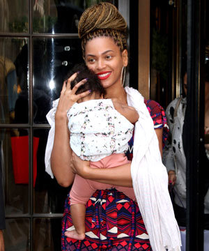 Beyonce debuts new hairstyle!