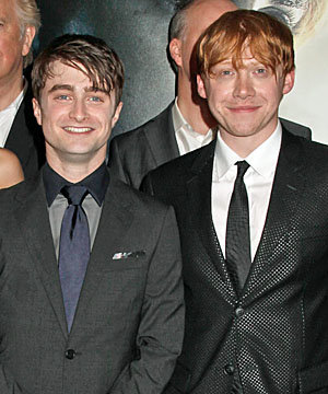 Harry Potter and the Deathly Hallows Part 2 is out NOW - WATCH our EXCLUSIVE chats with Daniel Radcliffe and Rupert Grint