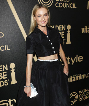Diane Kruger's a party pin-up at InStyle event