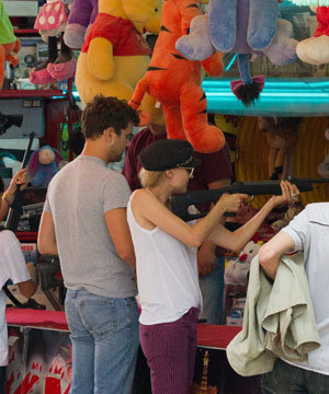Diane Kruger and Joshua Jackson's trip to the fair!