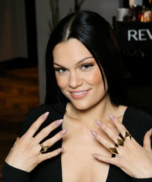 Jessie J Works The Nail Trend At The Brit Awards