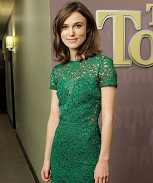 Keira Knightley chats wedding plans on The Ellen Show