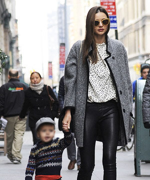 Olivia Palermo, Miranda Kerr and Diane Kruger rock leather trousers!