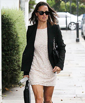 Pippa Middleton gets lacy on her birthday