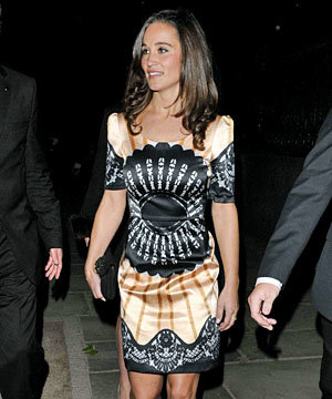 Pippa Middleton goes front row at Temperley for London Fashion Week