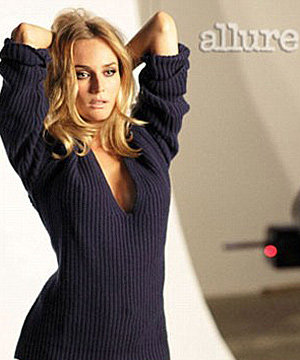Diane Kruger pays homage to Brigitte Bardot in Allure