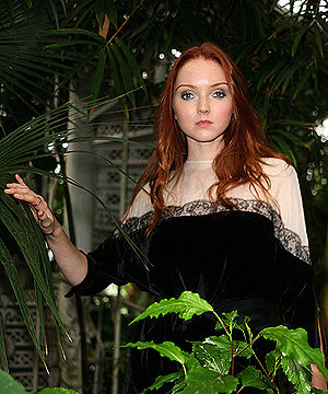 STAR CAMPAIGN: Lily Cole launches bid to save a billion Amazon trees