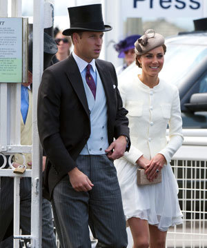 Kate Middleton, Prince William and the Royal family enjoy a day at the races...