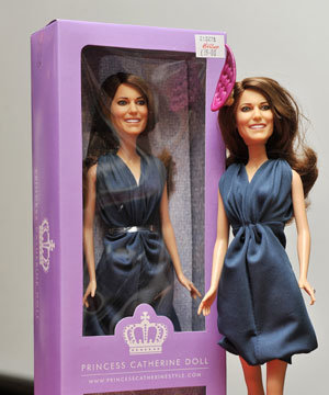 Kate Middleton gets her very own Princess Catherine doll!
