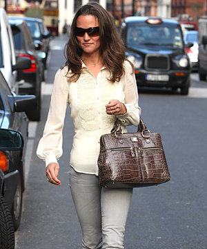 SPOTTED: Pippa Middleton does downtime chic