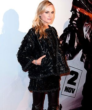 Diane Kruger wraps up in Chanel for Special Forces premiere