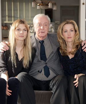 Clemence Poesy, Gillian Anderson and Michael Caine team up on Mr Morgan's Last Love