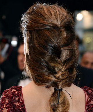 Get Cheryl Cole's waterfall plait as seen at Cannes 2013