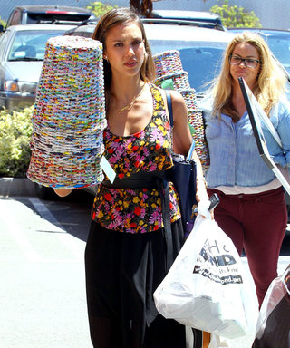 Jessica Alba gives a lesson in summer chic