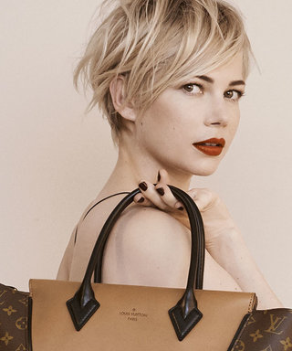Michelle Williams smoulders in Louis Vuitton's Autumn Winter 2013 campaign