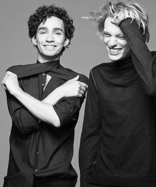 Exclusive: Go behind the scenes with Robert Sheehan and Jamie Campbell Bower
