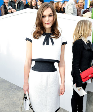 Keira Knightley Stuns On The FROW At Chanel
