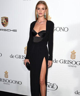 Rosie Huntington-Whiteley Pulls Off The Tricky Underwear-As-Outerwear Look