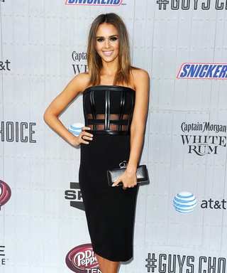 Jessica Alba Channels A Risque New Look