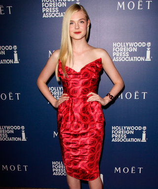 Elle Fanning Goes Grown-Up In Beautiful Bustier Frock