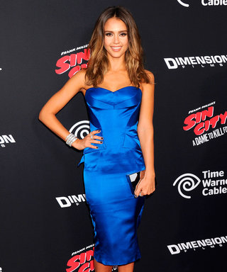 Jessica Alba Channels Her Inner Jessica Rabbit For Sin City 2 Premiere