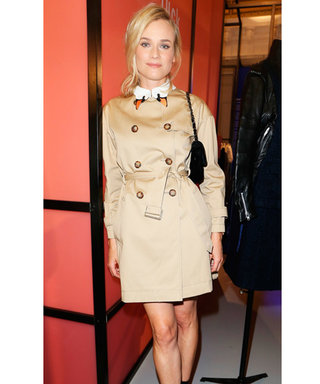 Diane Kruger's Statement Swan Collar Is The Cutest Thing We've Ever Seen