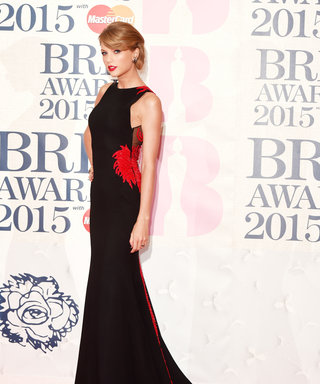 You NEED To See The Back Of Taylor Swift's BRIT Awards Dress...