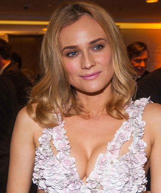 Diane Kruger Steps Into Spring In A Revealing Alexander McQueen Dress