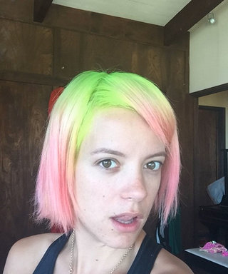 Lily Allen Has A Last Hair Hurrah Before Turning 30, So Here's Our Big 3-0 Bucket List
