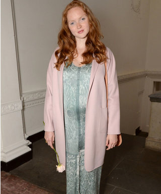 Lily Cole Shows Off Her Maternity Wardrobe And Baby Bump...