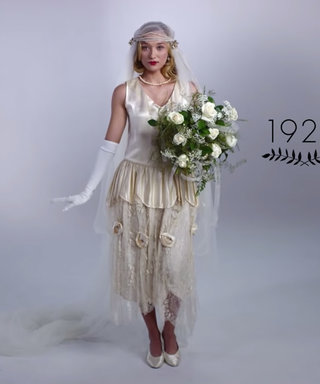 100 Years Of Wedding Dresses In 3 Minutes? Let The Gown-A-Thon Commence...
