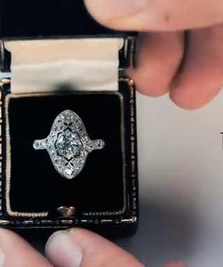 100 Years Of Engagement Ring Trends In Less Than Three Minutes? YES PLEASE