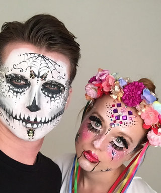 WATCH: How To Nail A Creepy Doll And Glitter Skull Makeup This Halloween