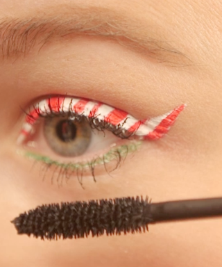WATCH: How To Do Candy Cane Eyeliner (And Out Sass Everyone At Xmas)