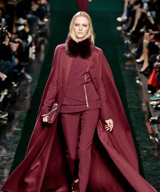 Elie Saab AW14, Paris Fashion Week