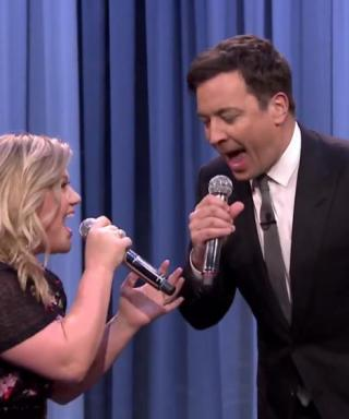 Kelly Clarkson and Jimmy Fallon Perform the History of Duets on The Tonight Show