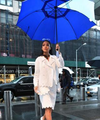 8 Style Savvy Celebrities Show Us How to Look Fashionable in the Rain