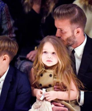 David and Harper Beckham May Be the Cutest Father-Daughter Duo Ever