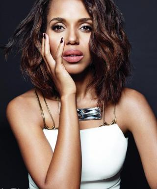 Kerry Washington Gets Ultraglam Inside the March Issue of InStyle