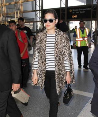 Marion Cotillard's Airport Style Proves How Cool French Girls Really Are
