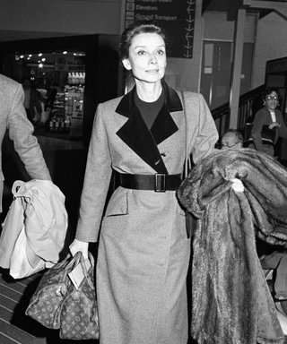 Audrey Hepburn's Airport Style Inspires Us to Dress Up for a Flight