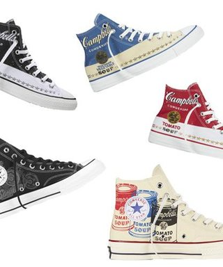 Factory This! You Can Now Buy Andy Warhol-Themed Converse Sneaks