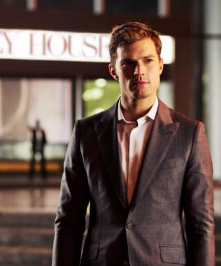 The Next Best Thing to Christian Grey Shirtless? Him In a Sexy Suit