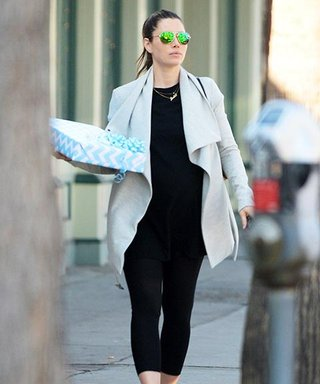 Jessica Biel and Her Baby Bump Hit the L.A. Streets in Style