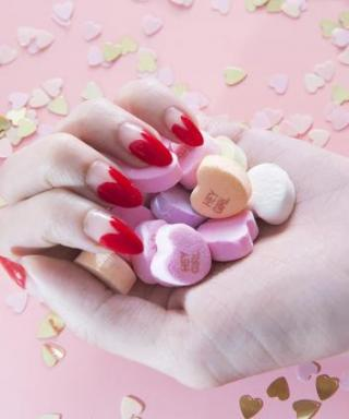 Nail a Heart-Shaped Manicure in Time for Valentine's Day