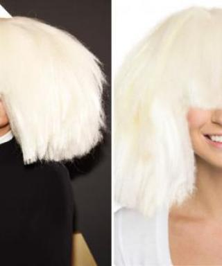 Try Sia's Incredible Grammy Wig on Now With Our Hollywood Makeover Tool