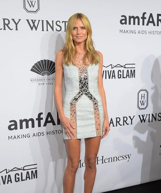 Heidi Klum Reveals Her Two Best Friends at the amfAR New York Gala