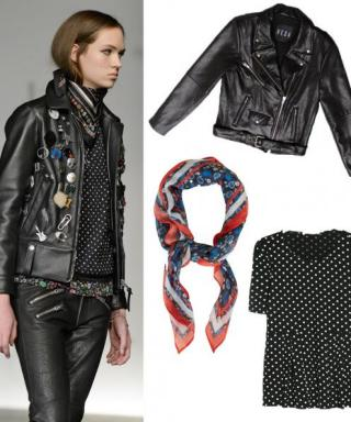 Shop the Snapshot: Coach's Printed Neckerchiefs from NYFW