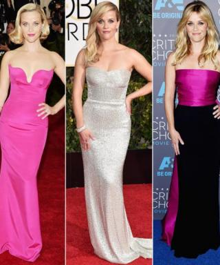 A Look Back at Oscar Nominee Reese Witherspoon's Stunning Red Carpet Looks